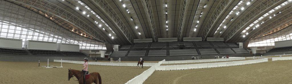 led lighting for horse arenas