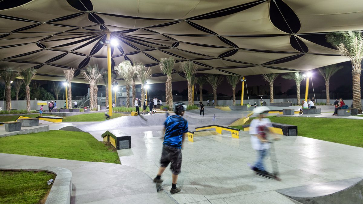 led lights for skate parks