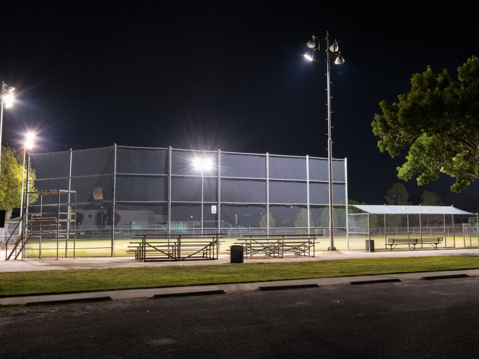 baseball field sports lighting