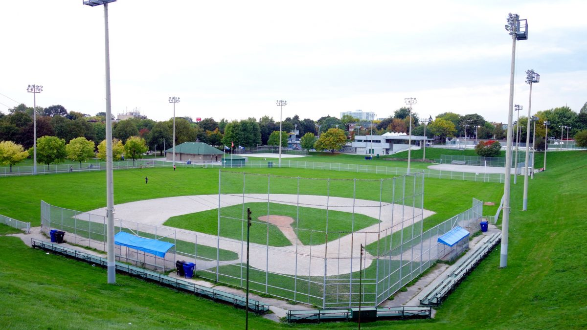 led lights little league stadiums