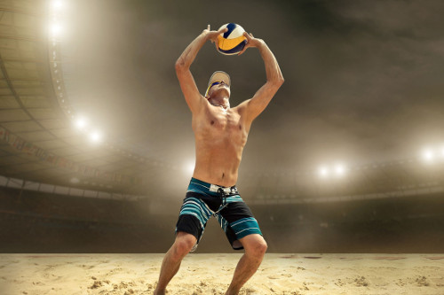 Beach volleyball LED Lights