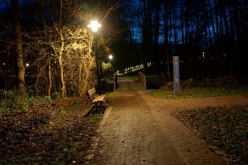 led lighting for parks
