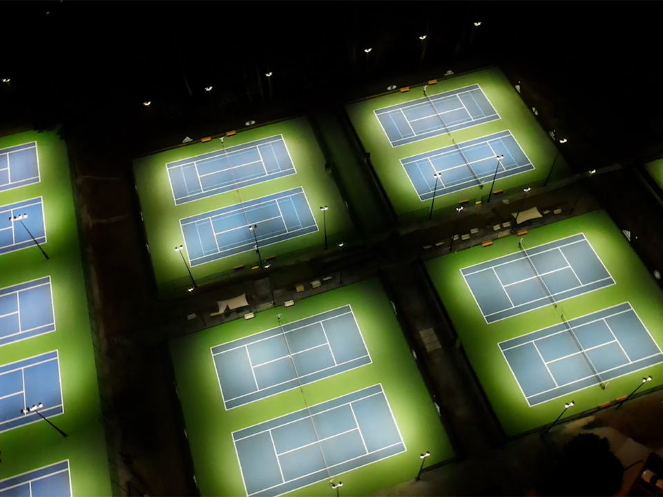 led lights for tennis courts